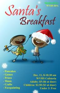 Santa's Breakfast Poster 1