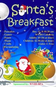 Santa's Breakfast Poster